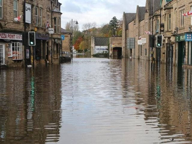 Derbyshire Floods In Pictures Torrential Rain Leads To