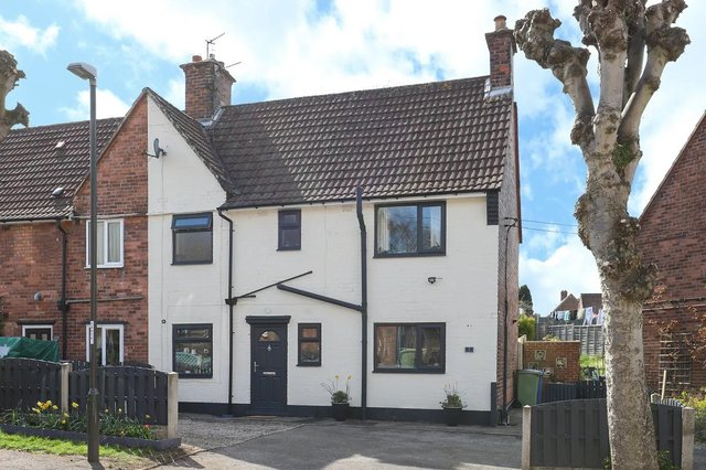 The three-bedroom, semi-detached home is new to the market.