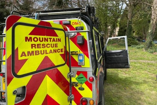 Edale Mountain Rescue Team responded to calls about a walker who collapsed at Limb Valley, near Ringinglow in Sheffield.