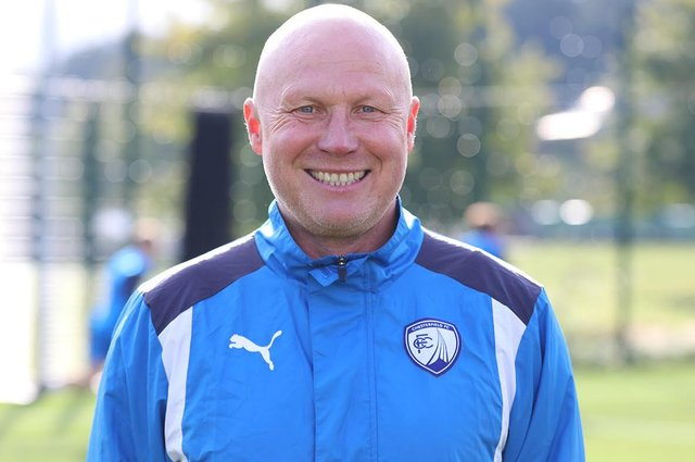 Spireites academy manager Neil Cluxton. Picture: Tina Jenner.