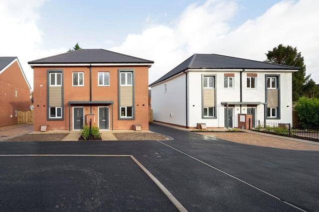 The modular housing scheme at Heaton Court