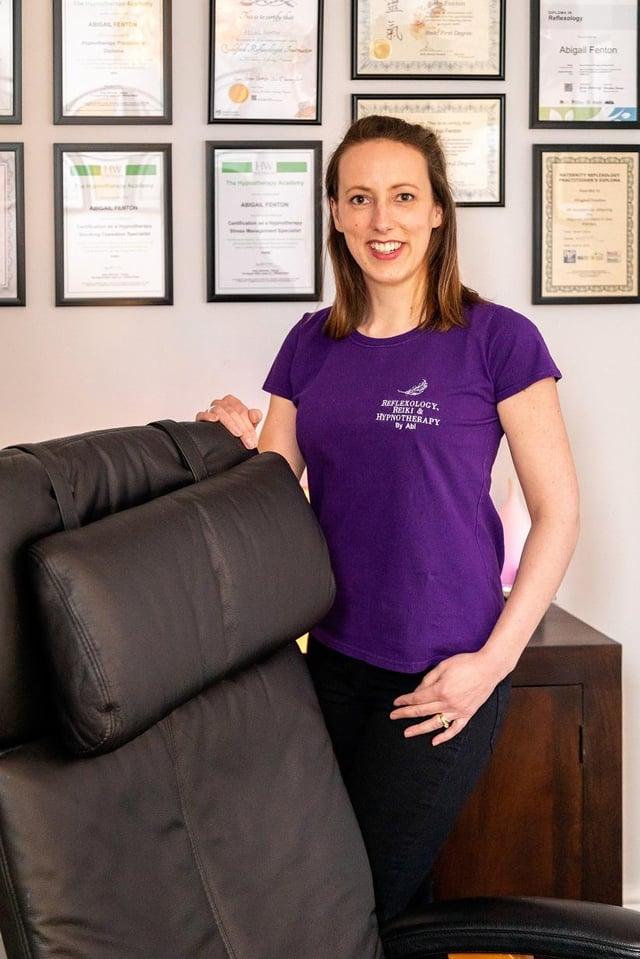 Abi Fenton can help change your body and mindet via reiki.
