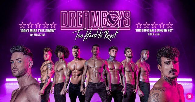 Dreamboys will tour to Sheffield on Sunday, September 26, 2021.