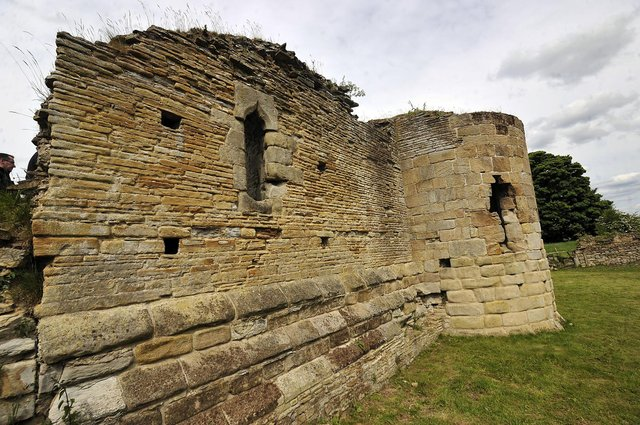 The ruins of Derbyshire's Codnor Castle have become the scene of a battle over access.