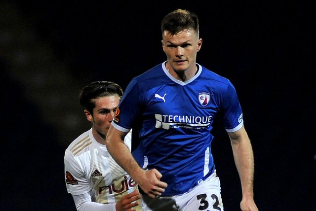 Chesterfield travel to Hartlepool United on Saturday (5.20pm KO).