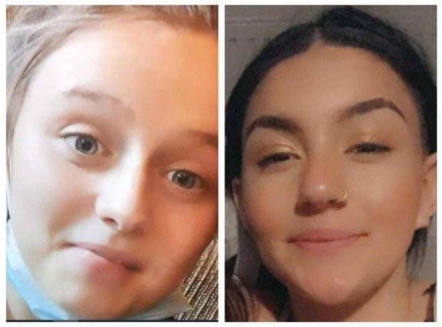 Destiny Sturgess-Green and Bethany Revill have been found.