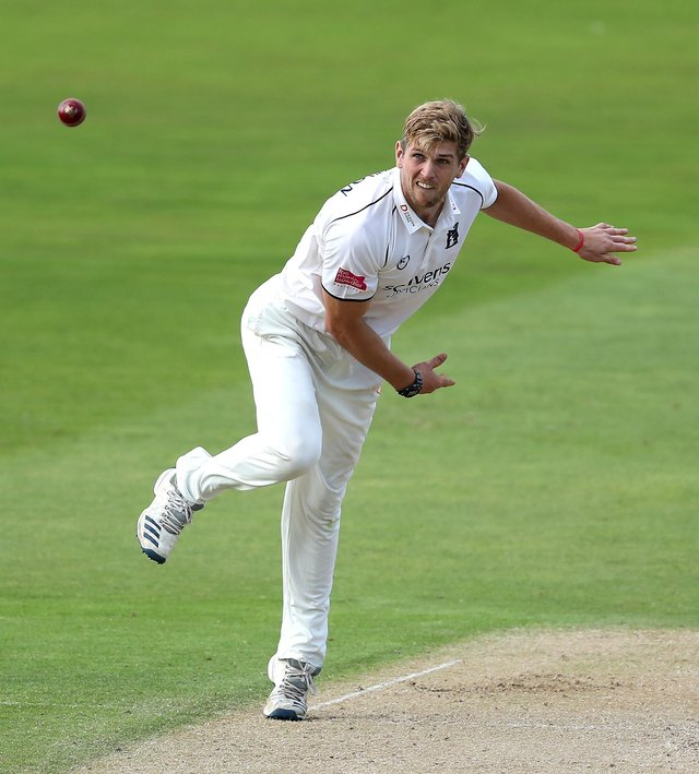 Alex Thomson has joined Derbyshire on a season loan deal. (Photo by David Rogers/Getty Images)
