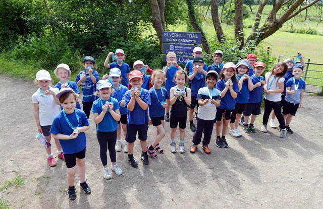 Newton Primary School have raised over £2,000 by holding a Race for Life event
