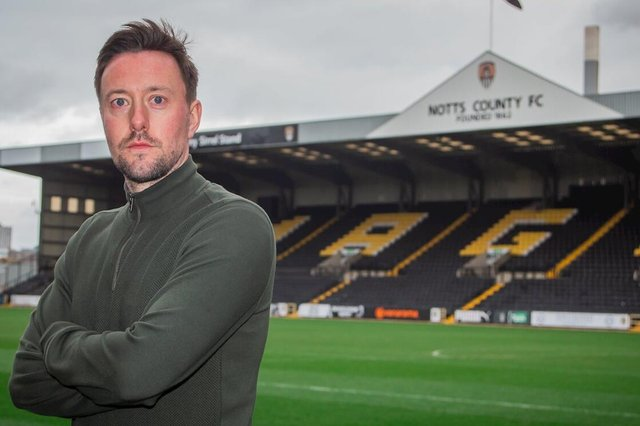 New Notts Count head coach Ian Burchnall. Picture: Notts County.