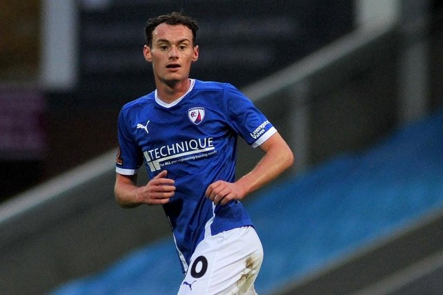 Liam Mandeville scored the winner for Chesterfield against Eastleigh on Saturday.