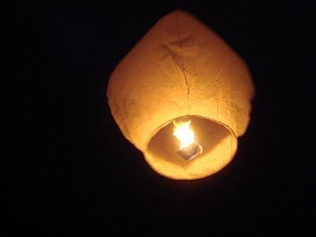A Derbyshire council is banning Chinese lanterns to prevent wildfires.