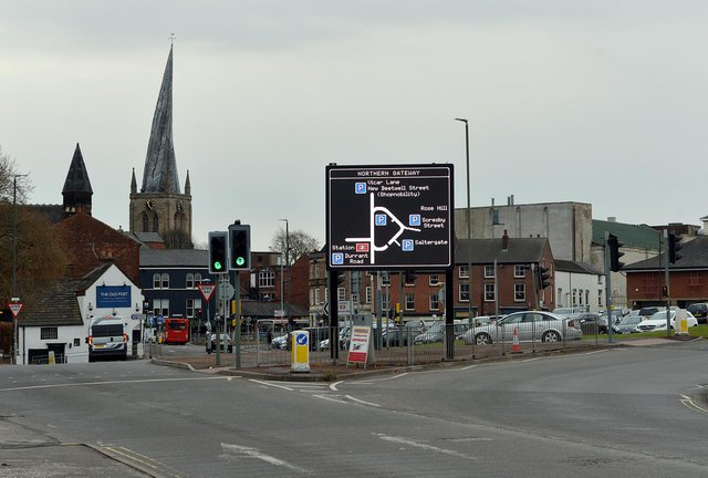 Chesterfield Safer Neighbourhood Team issued dispersal orders in the town last week.