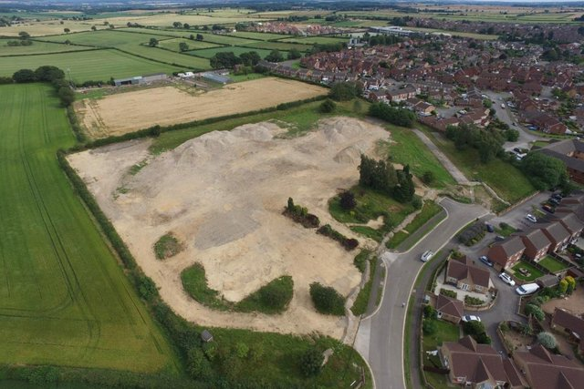 Some 58 homes are set to be built on the former site of Bolsover Hospital.