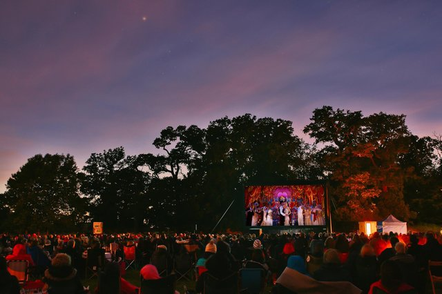 Outdoor cinema screenings  at Cromford, Belper and Derby will light up the summer entertainment calendar.