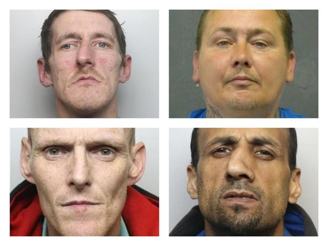 North Derbyshire's most prolific shoplifters