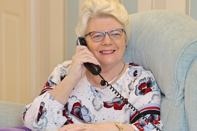 Wendy Walmsley, an Age UK Derby and Derbyshire Careline volunteer. We will be speaking to Wendy in the coming days to find out what it's like being a Careline volunteer.