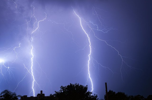 Thunderstorms are set to start in Chesterfield at midnight and last until Saturday. Photo by Idan Gil on Unsplash.