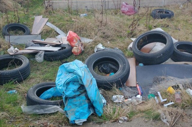 Police said there has been an increase in fly-tipping in Staveley during the Covid-19 pandemic.