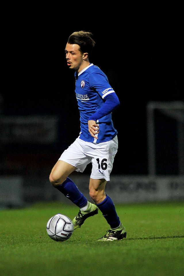 Jack Clarke scored his first goal for Chesterfield in the win against Bromley.