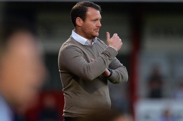 Yeovil Town manager Darren Sarll (photo by Tony Marshall/Getty Images).