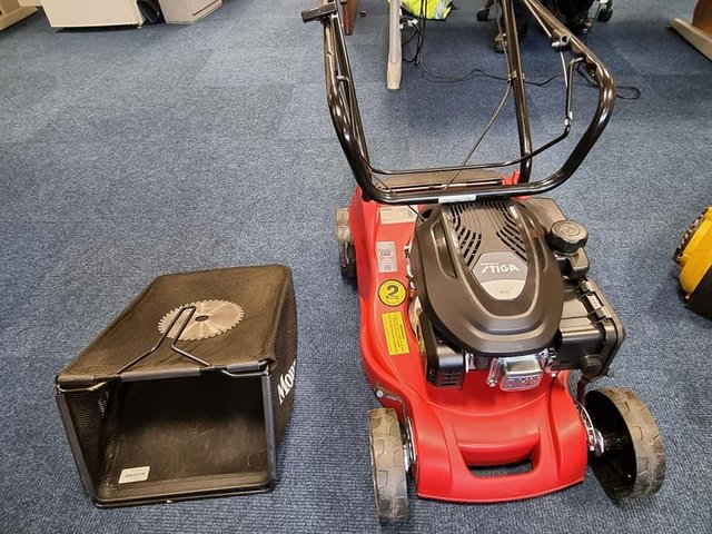 Police have recovered a quantity of suspected stolen garden tools and equipment in Chesterfield
