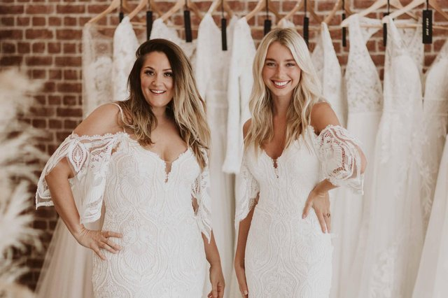 Wedding businesses in Derbyshire like Nora Eve Bridal Boutique have welcomed as easing of restrictions. Photo: Nora Eve Bridal Boutique