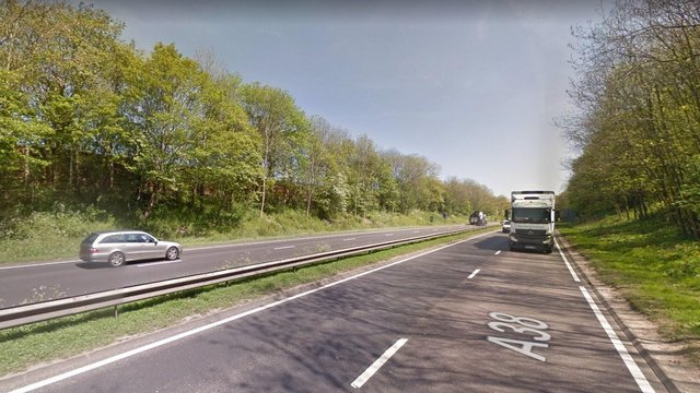 A lorry fire has caused traffic to be stopped on the A38 Southbound at Watchorn  - which connects to A61 in Chesterfield and Matlock.