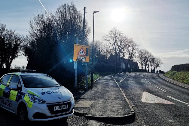 Shirebrook Police Safer Neighbourhood Team urged parents to consider where they park at school pick up times.