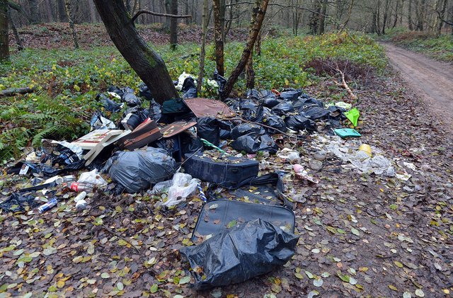 The areas of Derbyshire doing the most to tackle fly-tipping have been revealed.