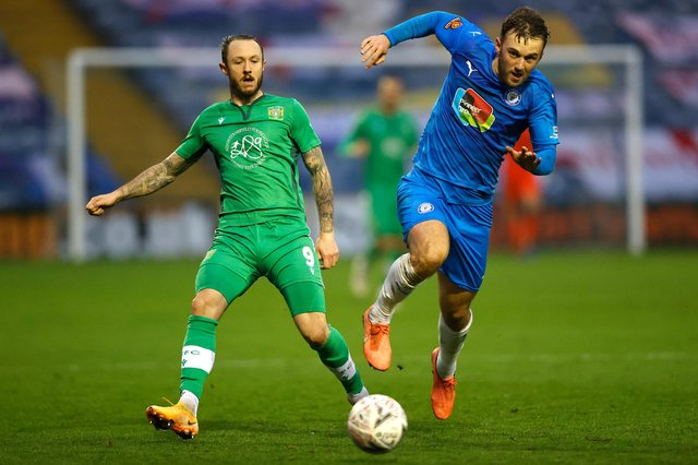 Rhys Murphy, pictured left, has left Yeovil Town to join Southend United.