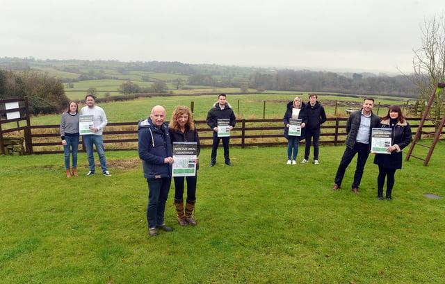 Plans for new solar farm near Ufton Fields Barns. Local residents.