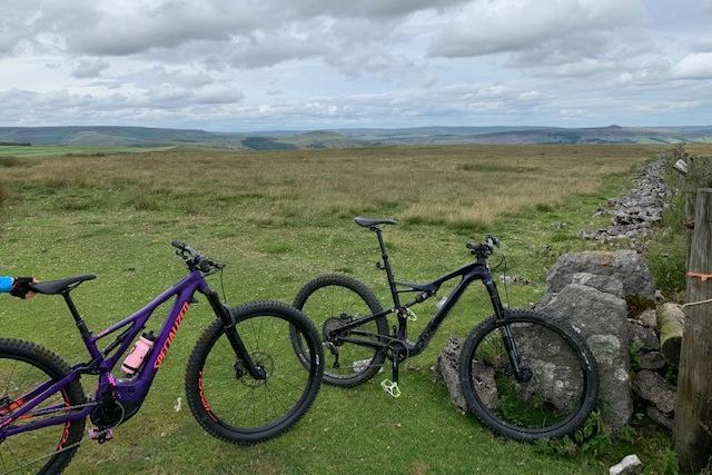 Two bikes were stolen.