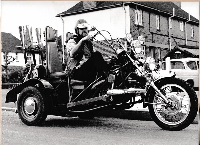 Malcolm Watkinson was a member of the Hells Angels for most of his life.