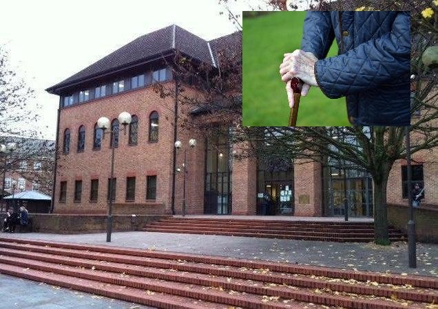 """Marjorie Bosworth told Derby Crown Court today """"you cannot imagine the terror we felt"""""""