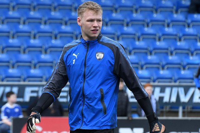 Former Chesterfield goalkeeper Aaron Ramsdale has been called up to England's Euro 2020 squad.