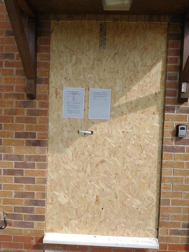 Magistrates granted a three-month closure order on the address at Hurst Rise.