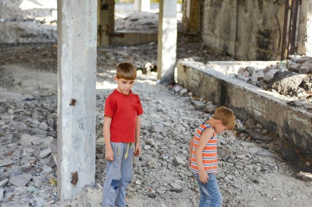Children are being warned of the dangers of playing on building sites.