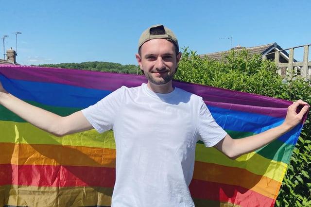 LGBT+ campaigner Calum McDermott, from Hasland.
