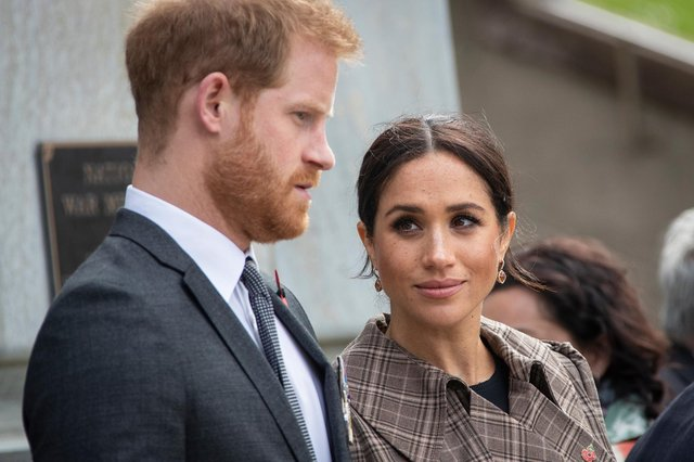Prince Harry, Duke of Sussex and Meghan, Duchess of Sussex (Photo by Rosa Woods - Pool/Getty Images)