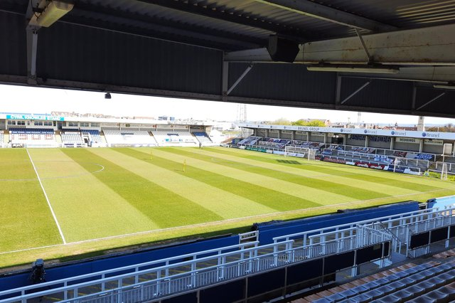 Hartlepool United v Chesterfield - live updates.