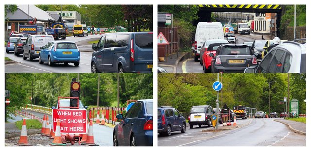 Drivers say the number of roadworks around Chesterfield is bringing the town to a standstill