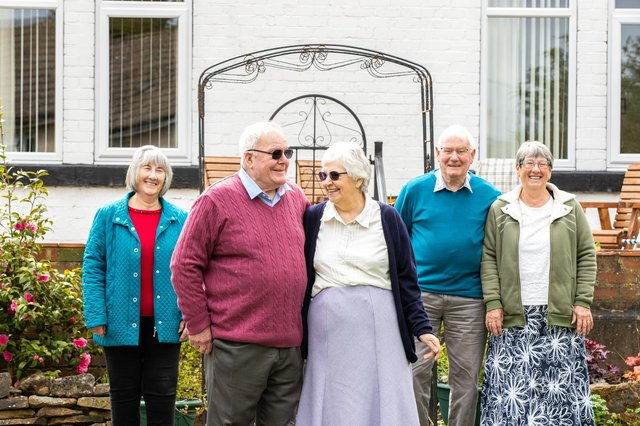 John and Penny Burch have made new friends through membership of Derbyshire Peak Oddfellows friendly society.