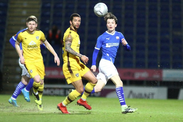 Chesterfield suffered their first home loss under James Rowe against Sutton United on Tuesday night.
