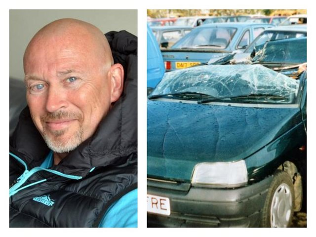 It has been 21 years since Jon Greaveswas in a car accident which nearly killed him