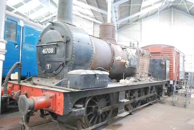 Former Staveley Iron Works 'Half cab' steam locomotive 41708 has been purchased by the Roundhouse, which intends to restore it to running order.