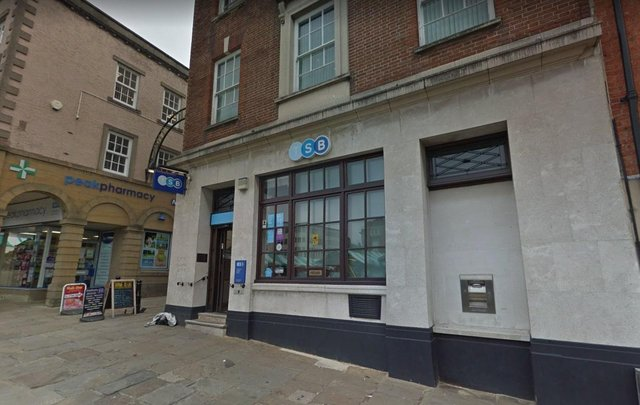 TSB's Chesterfield branch in Market Place is closing down next week.