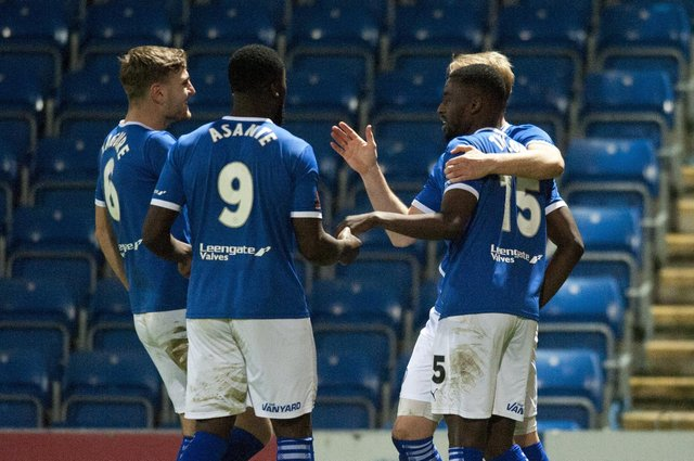 The Spireites are well and truly in the promotion race this year.