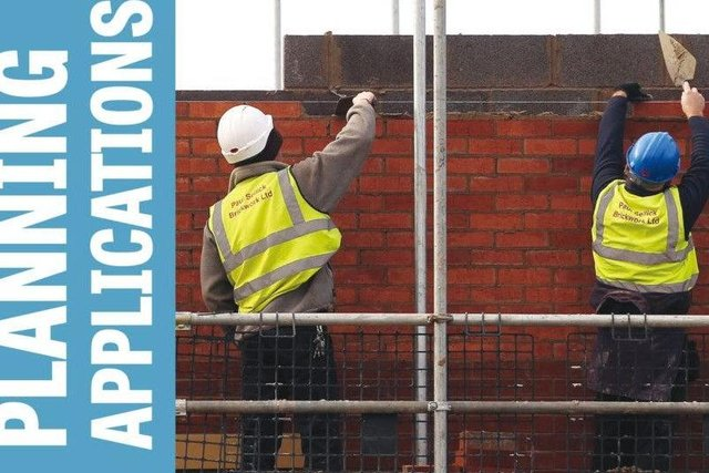 Dozens of planning applications have been submitted across north Derbyshire.