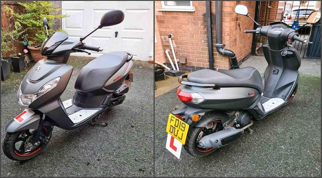 A 17-year-old's moped was allegedly stolen by two men in Shipley Country Park near Osborne's Pond on April 15.