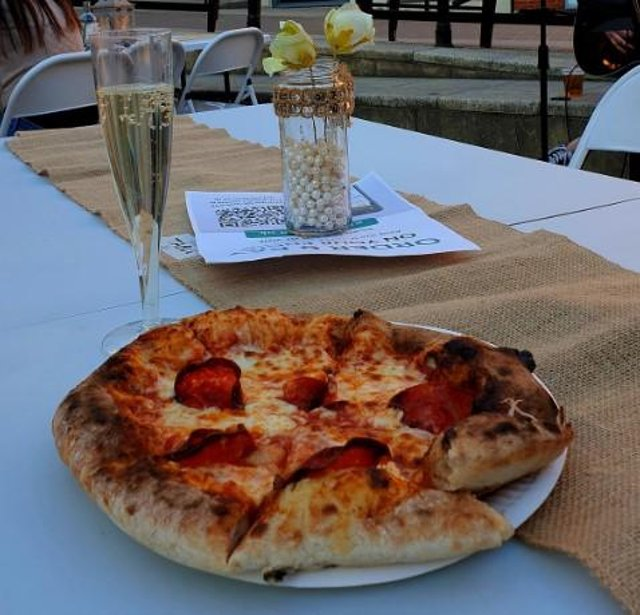 Pizza and prosecco outdoor dining experience returns to Vicar Lane, Chesterfield, from Friday, May 14, to Sunday, May 16, 2021.